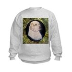 Clumber Spaniel Hunter Kids Sweatshirt