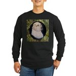 Clumber Spaniel Hunter Long Sleeve Dark T-Shirt