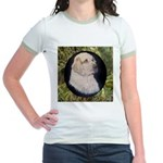 Clumber Spaniel Hunter Jr. Ringer T-Shirt