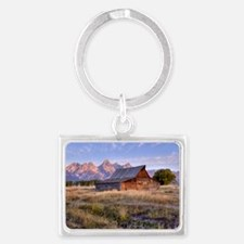 Moulton Barn - LFP Landscape Keychain