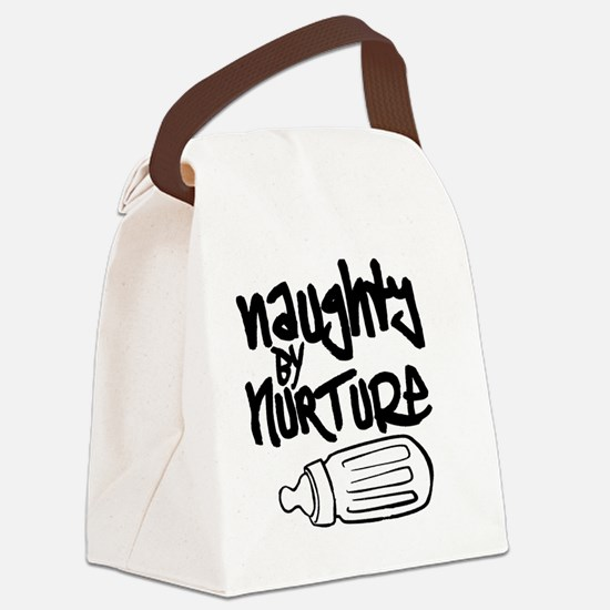Naughty by Nurture Canvas Lunch Bag