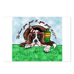 Bassett Hound Party guy!! Postcards (Package of 8)