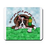 Bassett Hound Party guy!! Mousepad