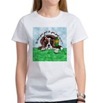 Bassett Hound Party guy!! Women's T-Shirt