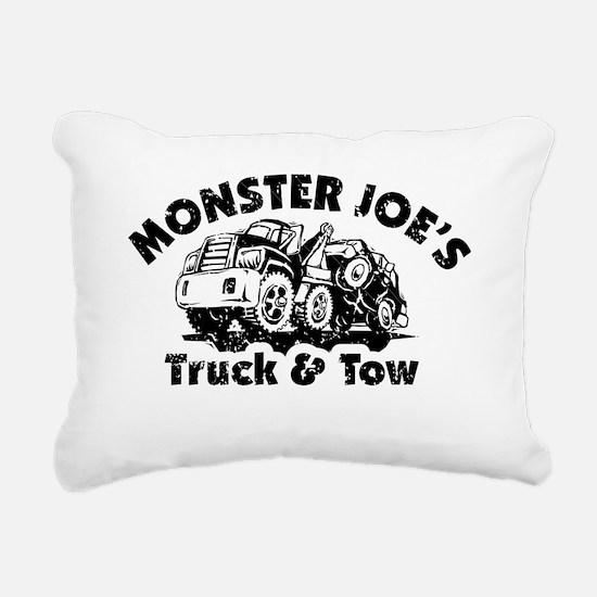 Monster Joes Truck  Tow Rectangular Canvas Pillow