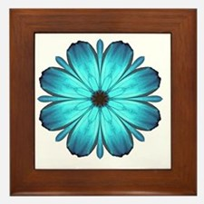 Kaleidescopicbutterfly Framed Tile