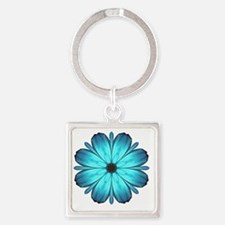 Kaleidescopicbutterfly Square Keychain