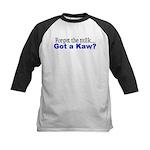Got a Kaw? Kids Baseball Jersey