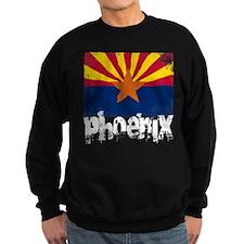Phoenix Grunge Flag Sweatshirt