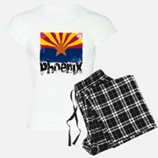 Phoenix Grunge Flag Pajamas