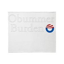 Obummer Burden 12 dk Throw Blanket