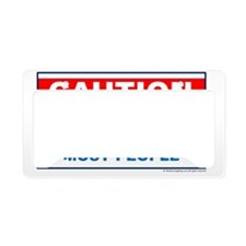 CAUTION not get along with ea License Plate Holder