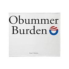 Obummer Burden 12 Throw Blanket