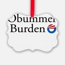 Obummer Burden 12 Ornament