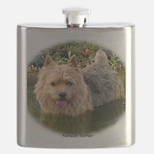 Norwich Terrier 9Y235D-087 Flask