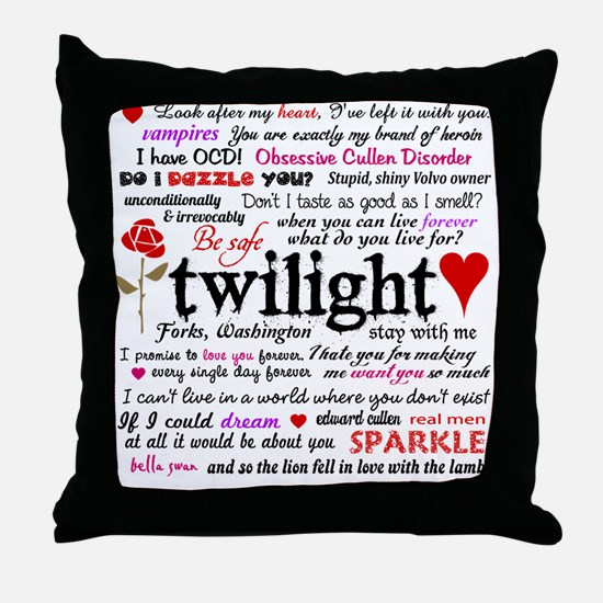 Twi Terms FF Throw Pillow