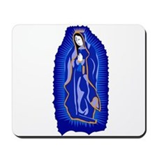 Our Lady of Guadalupe - Blue Mousepad