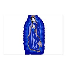 Our Lady of Guadalupe - Blue Postcards (Package of