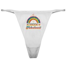 Atheist Parade Shirt Classic Thong