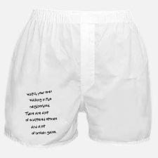 A lot of Broken Glass Boxer Shorts