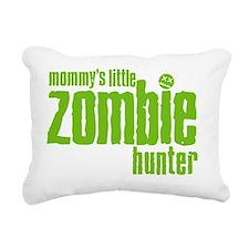 Mommys Little Zombie Hun Rectangular Canvas Pillow