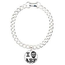 I-love-Abe-Grey Bracelet