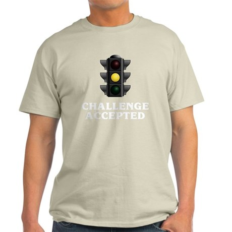 Challenge Accepted blk Light T-Shirt