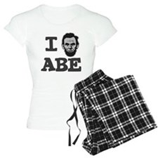 I-love-Abe-Grey Pajamas