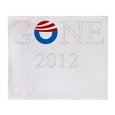 Gone 2012 dk Throw Blanket