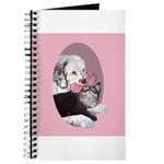 Clumber Spaniel & cat Journal