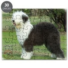 Old English Sheepdog 9F055D-17 Puzzle