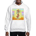 Norwich Terrier & Cat Hooded Sweatshirt