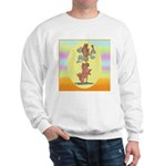 Norwich Terrier & Cat Sweatshirt