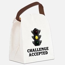 Challenge Accepted Canvas Lunch Bag