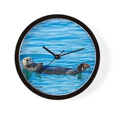 seaotter Wall Clock