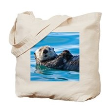 seaotter-face Tote Bag