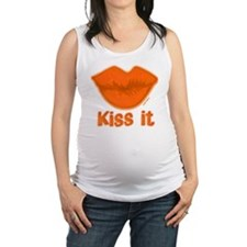10x10BigSLOPPYkissfilled Maternity Tank Top
