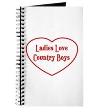 Country Boys Heart Journal
