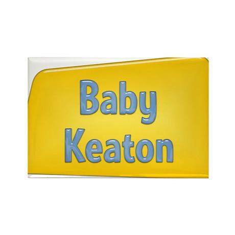 Baby Keaton Rectangle Magnet
