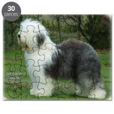 Old English Sheepdog 9F054D-18 Puzzle