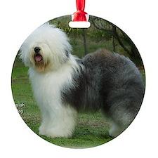 Old English Sheepdog 9F054D-17 Ornament