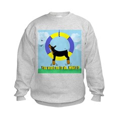 Agility Doberman Pinscher Sweatshirt