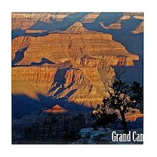 canyon_sunrise_pillow Tile Coaster