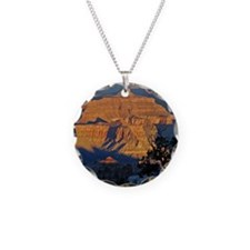 canyon_sunrise_pillow Necklace
