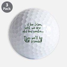 Well be friends png Golf Ball