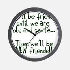 Well be friends png Wall Clock