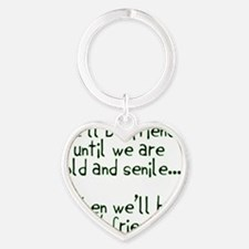 Well be friends png Heart Keychain