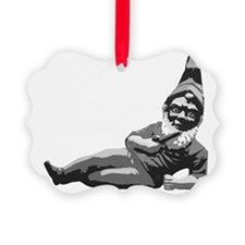 To Gnome Is To Love Me blk Ornament