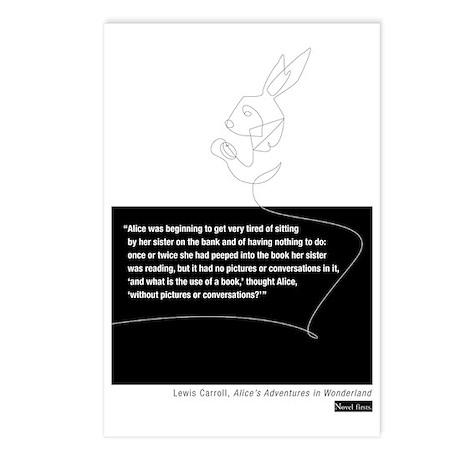 Carroll-tshirt Postcards (Package of 8)