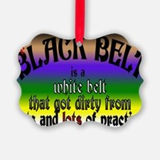 The Black Belt Is Ornament